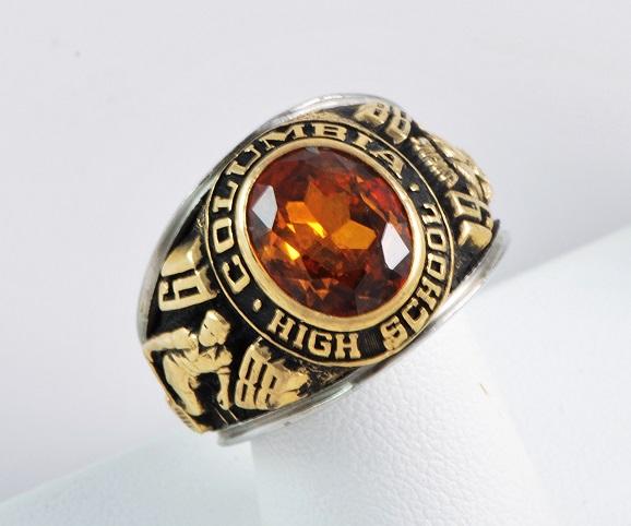 Columbia High School Class Ring 1979 1988 Mens Ring 1215