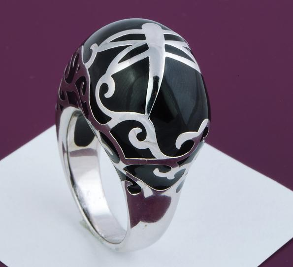 Art Deco Fashion Scrolled Dragonfly Ring Size 9
