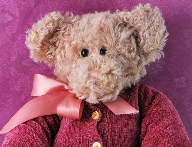 Boyds Bear Mohair Nancy D Bearington W Chenille Sweater