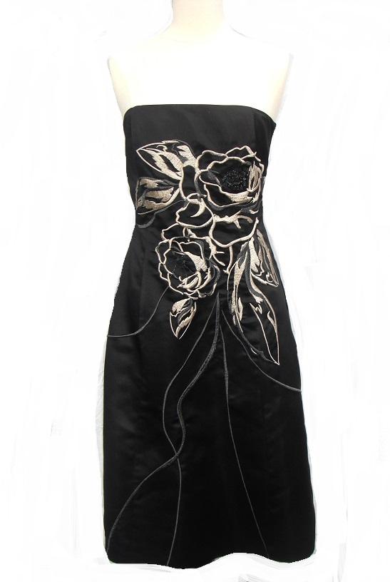 6f3f8c12 White House Black Market Embroidery & Beaded Dress [2844] - $40.00 ...