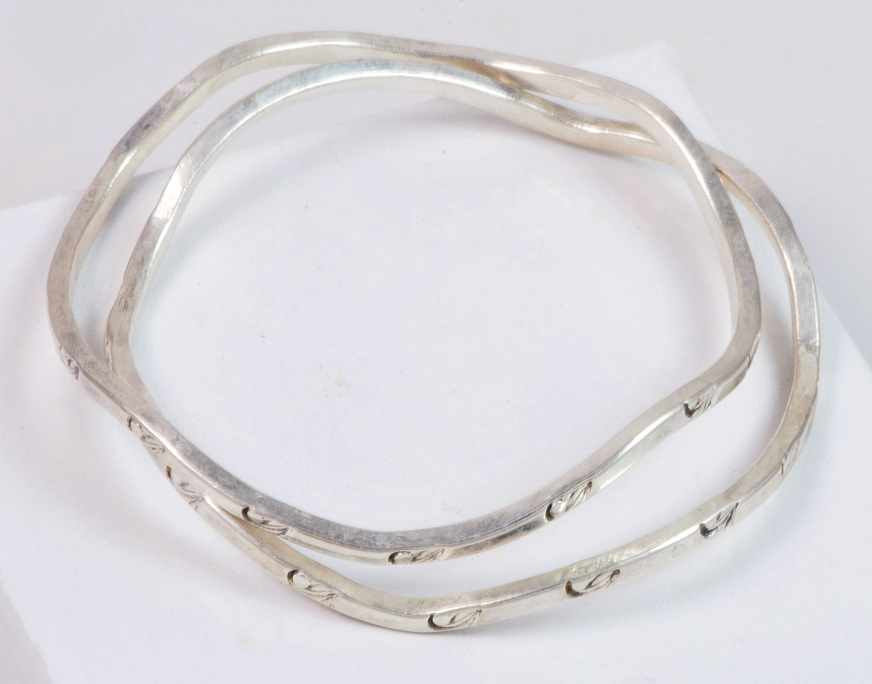 Other Antique Silverplate Strict Antique Alpacca Silver Bracelet Bracelets